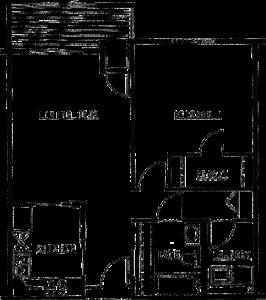 Northview Manor floor plan B