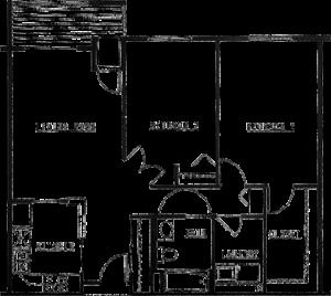 Northview Manor floor plan C