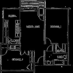 Northview Manor floor plan D