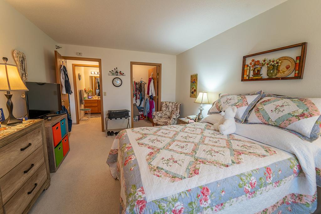 Northview Manor floor plan D Master Bedroom