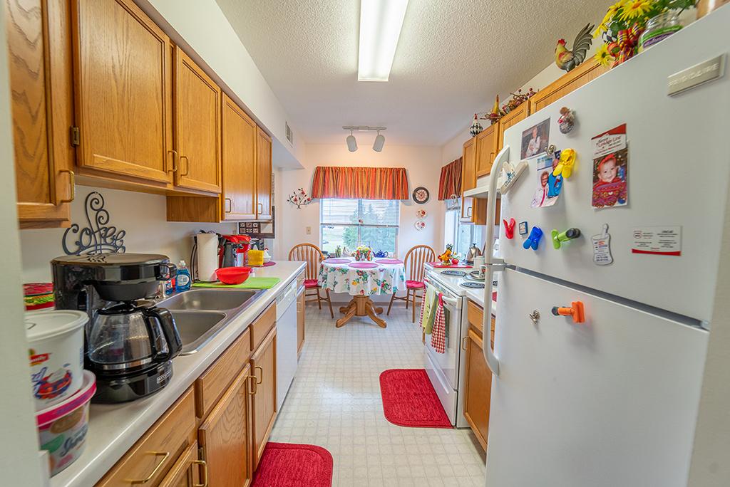 Northview Manor floor plan D Kitchen